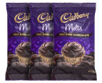 3 x Cadbury Baking Melts Dark Chocolate 225g 1