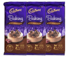3 x Cadbury Baking Block Milk Chocolate 200g 1