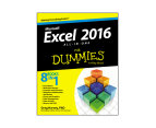 Excel 2016 All-in-One For Dummies Book 1