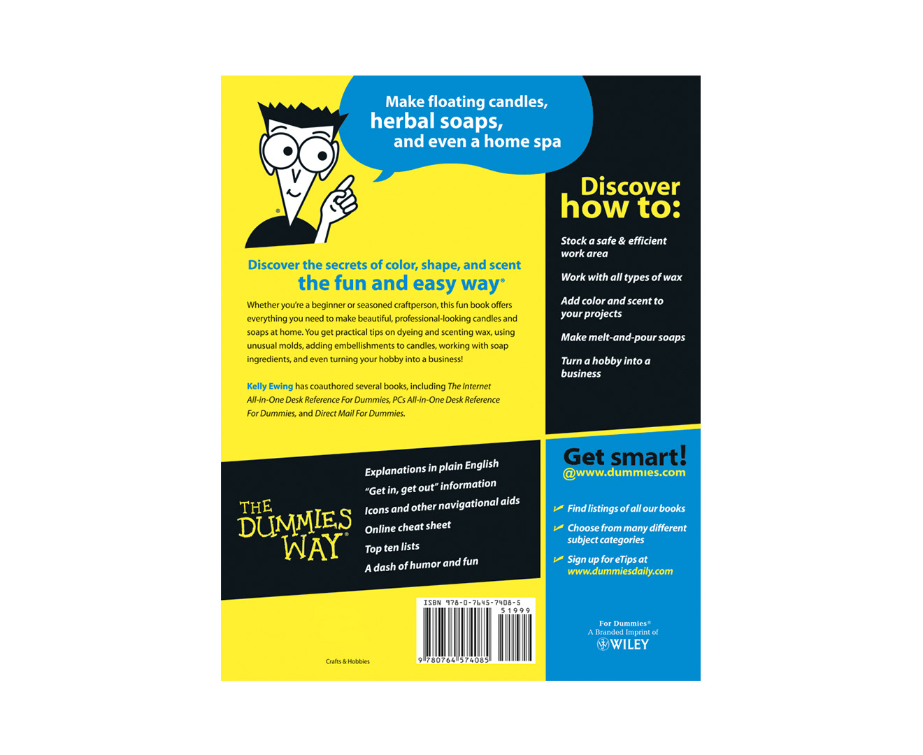 Making Candles And Soaps For Dummies Book Ebay border=