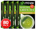 4 x Ito En Matcha Green Tea Traditional 20pk 1