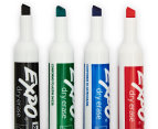 Expo Chisel Tip Whiteboard Marker 4-Pack - Assorted 3