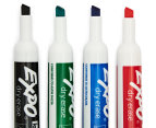 Expo Chisel Tip Whiteboard Marker w/ Cleaner and Eraser 4-Pack - Assorted 3