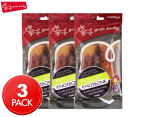 3 x Yours Droolly 15cm Chicken Wrapped Pork Smoked Knot Bone 2-Pack 1