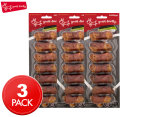 3 x Yours Droolly 6cm Chicken Wrapped Pork Knot Bone 7-Pack 1