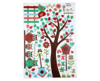 Birds, Trees & Fences Wall Decal 2