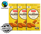 3 x Alter Eco Dark Almond Organic Chocolate 80g 1