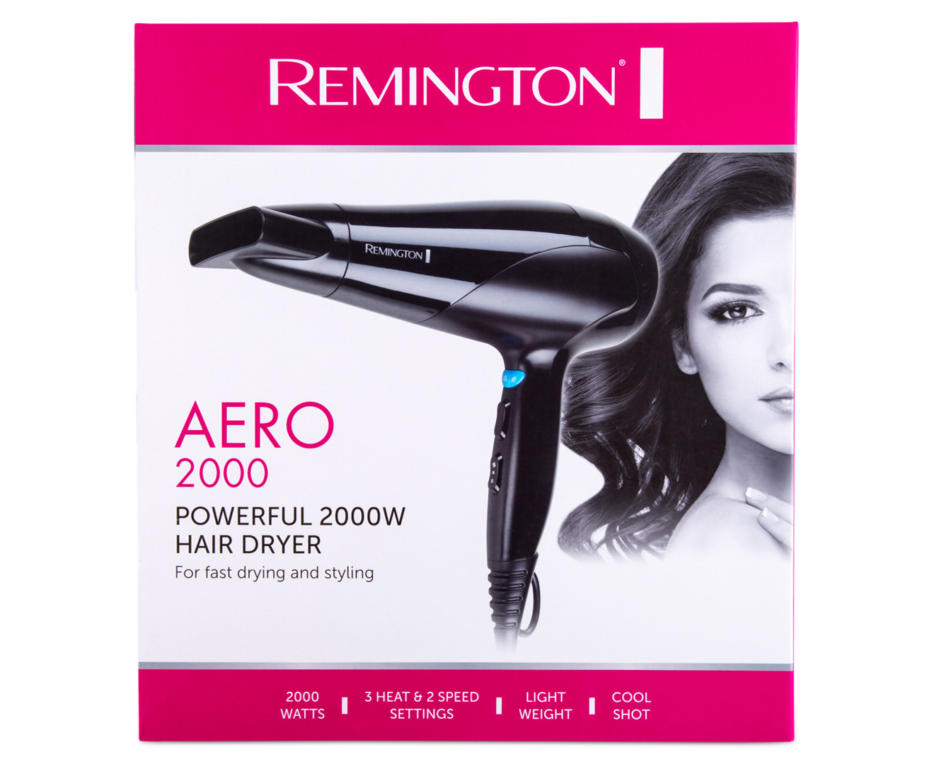 7bfc4147e Remington Aero 2000 Hair Dryer