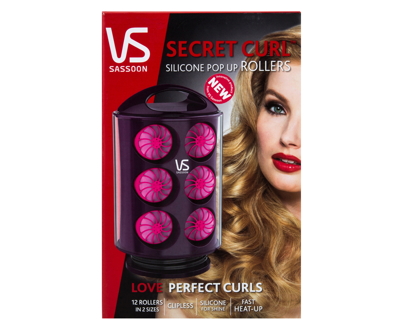 vs sassoon hot rollers instructions