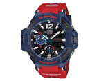 Casio G-Shock Men's 51mm GA1100-2A Watch - Red/Blue 1