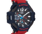 Casio G-Shock Men's 51mm GA1100-2A Watch - Red/Blue 2