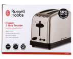 Russell Hobbs Classic 2-Slice Toaster - Silver 6