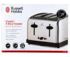 Russell Hobbs Classic 4-Slice Toaster - Silver 6