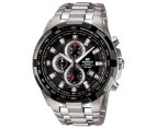 Casio Edifice Men's 54mm EF539D-1 Stainless Steel Chronograph Watch - Black/Silver 1