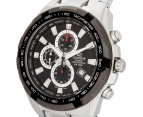 Casio Edifice Men's 54mm EF539D-1 Stainless Steel Chronograph Watch - Black/Silver 3