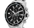 Casio Edifice Men's 54mm EFR546D-1A Stainless Steel Chronograph Watch - Black/Silver 3