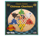 Shuffle Classic Games Wooden Chinese Checkers Game Set 1