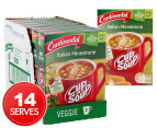 7 x Continental Cup A Soup Italian Minestrone 2pk 1
