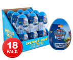 18 x Paw Patrol Blue Surprise Egg 10g 1