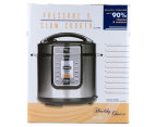 Healthy Choice 6L Pressure & Slow Cooker - Black 6