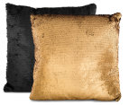 Vistara Sequin Cushion - Gold/Black 3