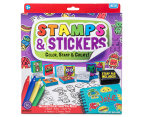 Stamps & Stickers Color, Stamp & Create! Kit 1