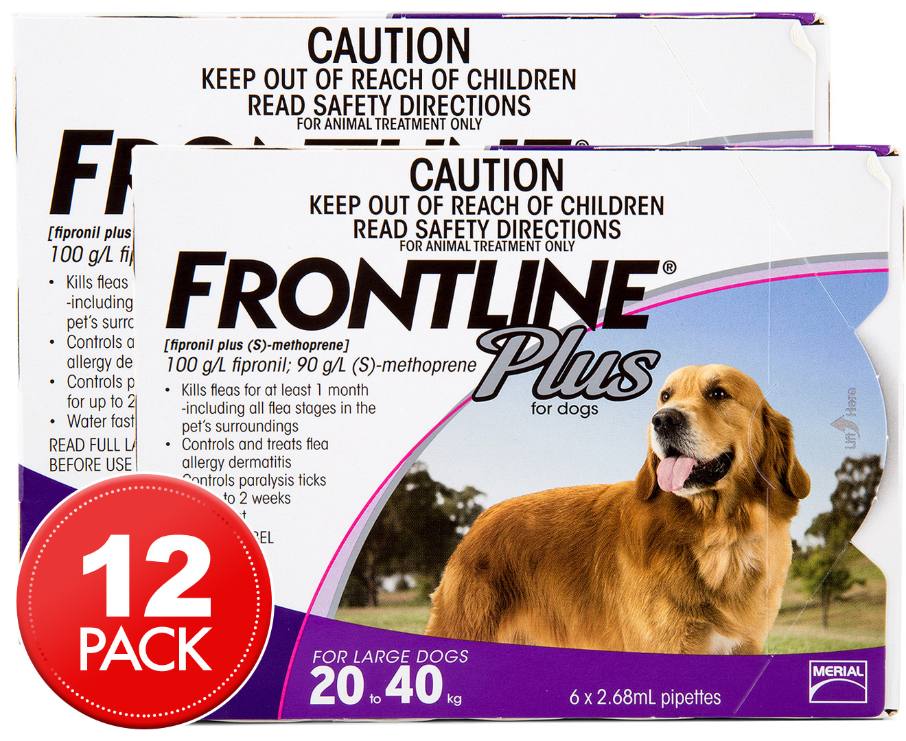 Frontline Plus Large Dogs Directions