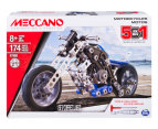 Meccano 5-in-1 Motorcycles Toy 1