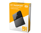 WD My Passport USB 3.0 4TB Portable Hard Drive - Black 6