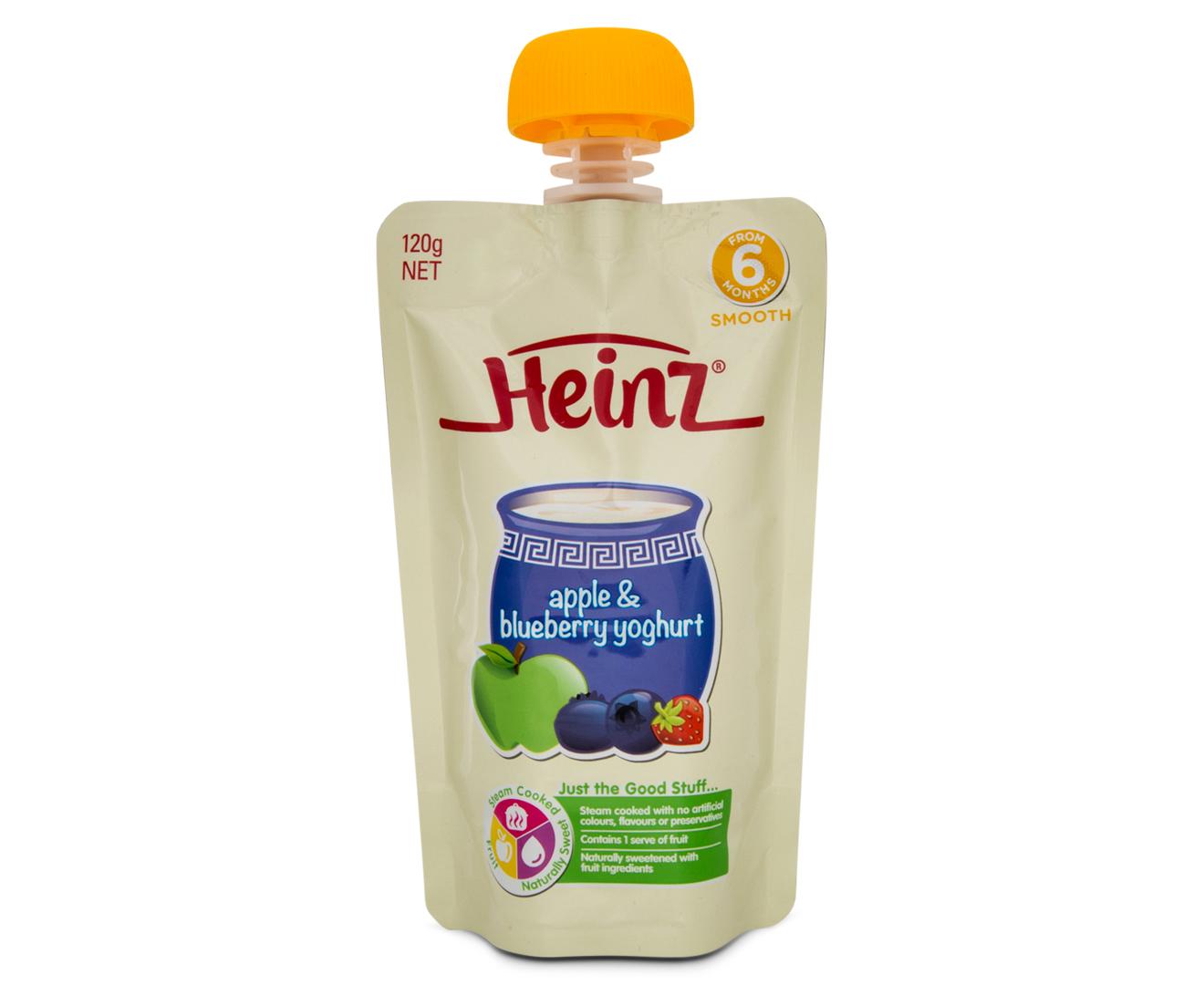 Heinz Baby Food  Months