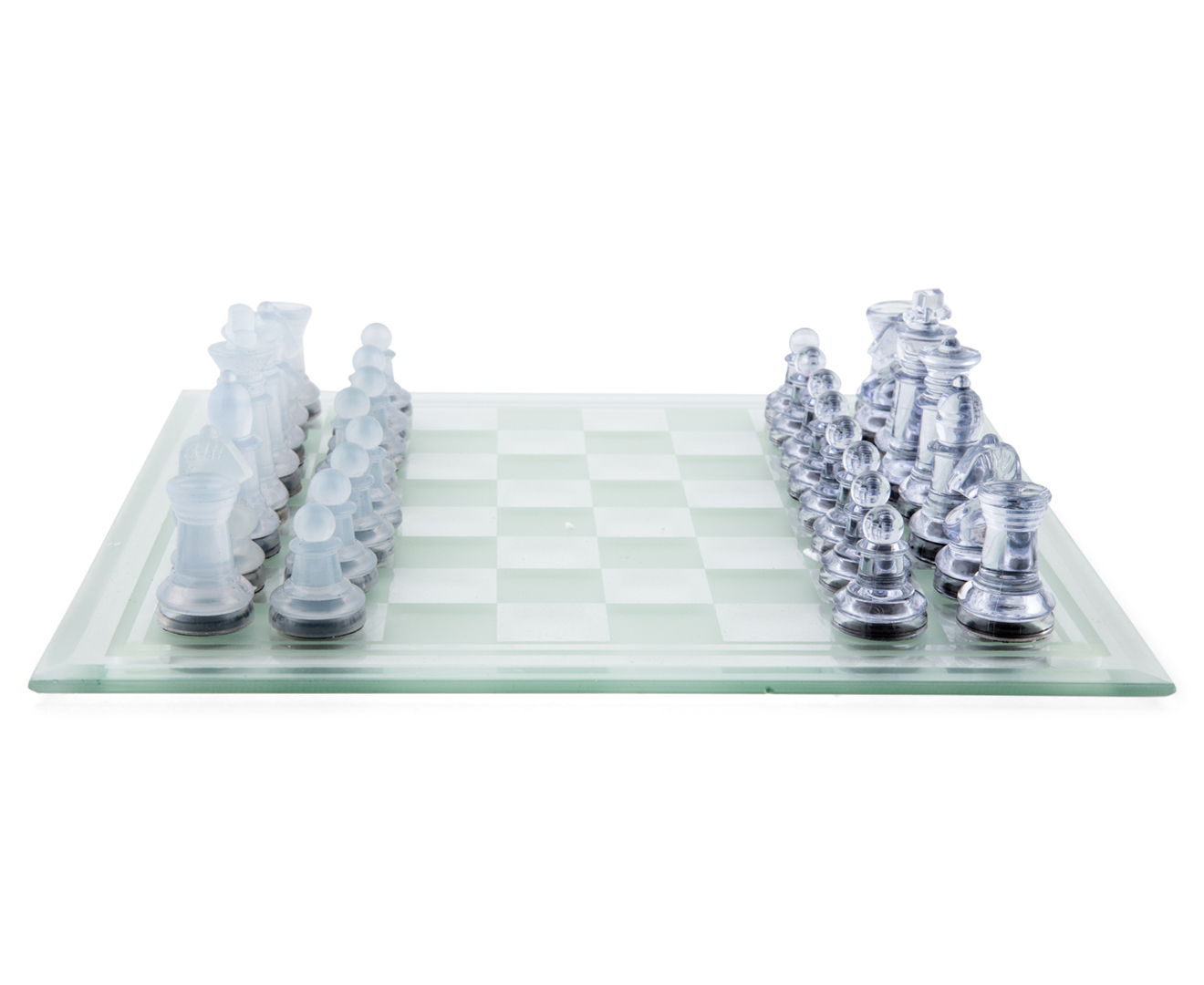 Cardinal Chess Checkers Set W Glass Board Ebay