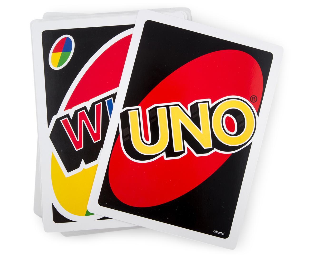 Giant Uno Card Game Catch Com Au