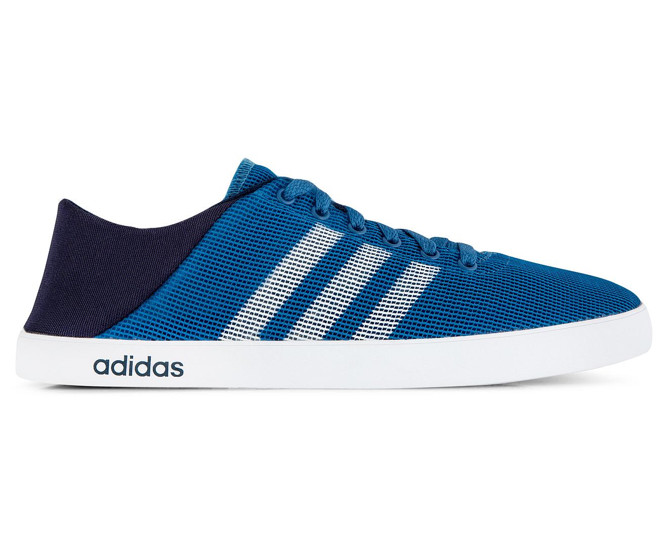 Adidas NEO Men's VS Easy Vulc Sea Shoe Corn BlueWhiteCollegiate Navy