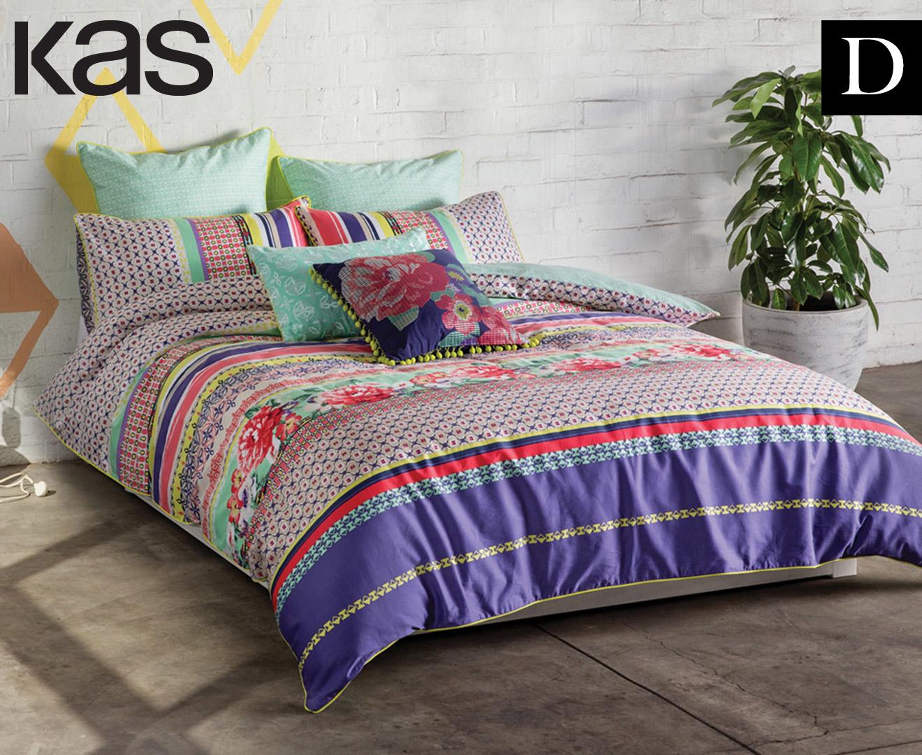 KAS Suzie Double Bed Quilt Cover Set - Multi