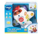 VTech Baby Play & Learn Aeroplane Baby/Infant Activity/Toy with Interactive Buttons and Sing-a-long Songs 1