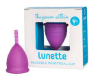Lunette Cynthia Model 1 Menstrual Cup & Cleanser Pack 2