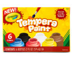 Crayola Tempera Paint 6-Pack 1