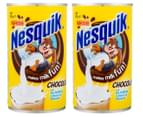 2 x Nestlé Nesquik Chocolate Powder 250g 1