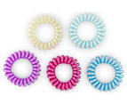 2 x Hair Ring Spiral 5-Pack - Randomly Selected 5