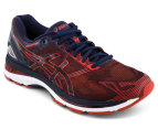 ASICS Men's GEL-Nimbus 19 Shoe - Peacoat/Red Claypot 3