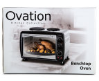 Ovation 26L Benchtop Oven & Hotplate - Stainless Steel 6
