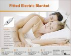 Digilex Single Size Washable Fitted Polyester Electric Blanket With Controller 2