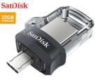 SanDisk 32GB Ultra Dual USB 3.0 & Micro USB Flash Drive 1