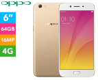 OPPO R9s Plus 64GB 4G Smartphone Unlocked - Gold 1