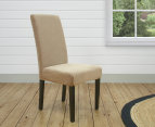 Sure Fit Stretch Dining Chair Cover - Flax 3