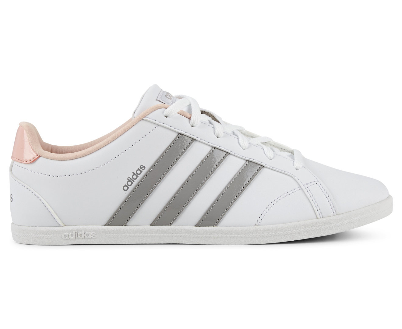 Adidas Women S Vs Coneo Qt Shoe White Grey