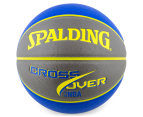 SPALDING NBA Crossover Composite Leather Basketball - Size 7 1