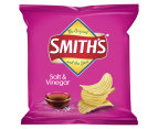 2 x Smith's Crinkle Cut Chips Salt & Vinegar 6pk 2