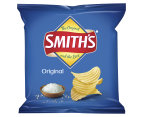 2 x 6pk Smith's Crinkle Cut Chips Original 2