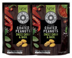 2 x Red Rock Deli Coated Peanuts Sweet Chilli & Basil 150g 1